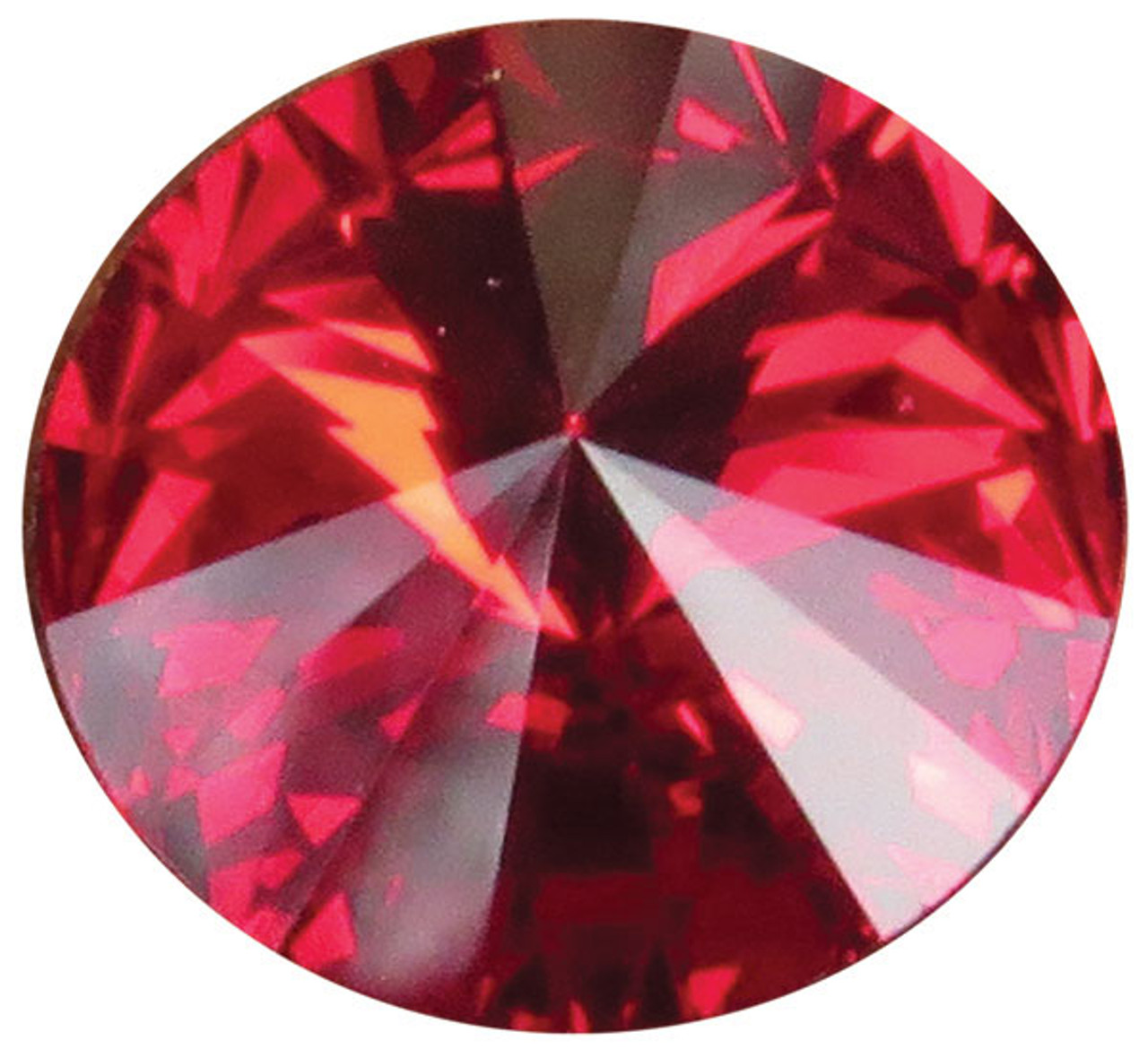 Swarovski Crystal Gemstones Garnet- January 6 stones/pack. For ClayPaws®