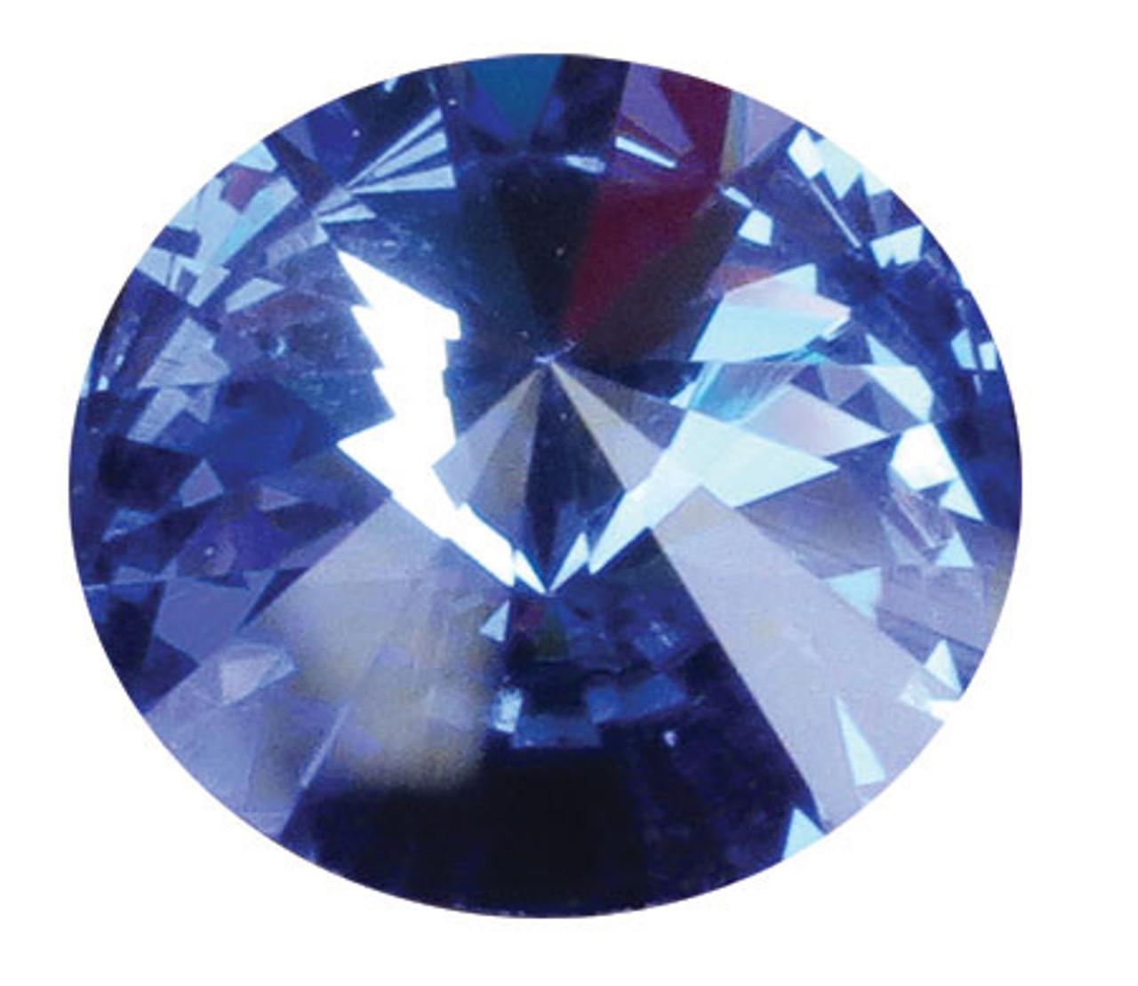 SCSEP - Swarovski Crystal Gemstones Sapphire (September) 6 stones/pack. For ClayPaws® Prints