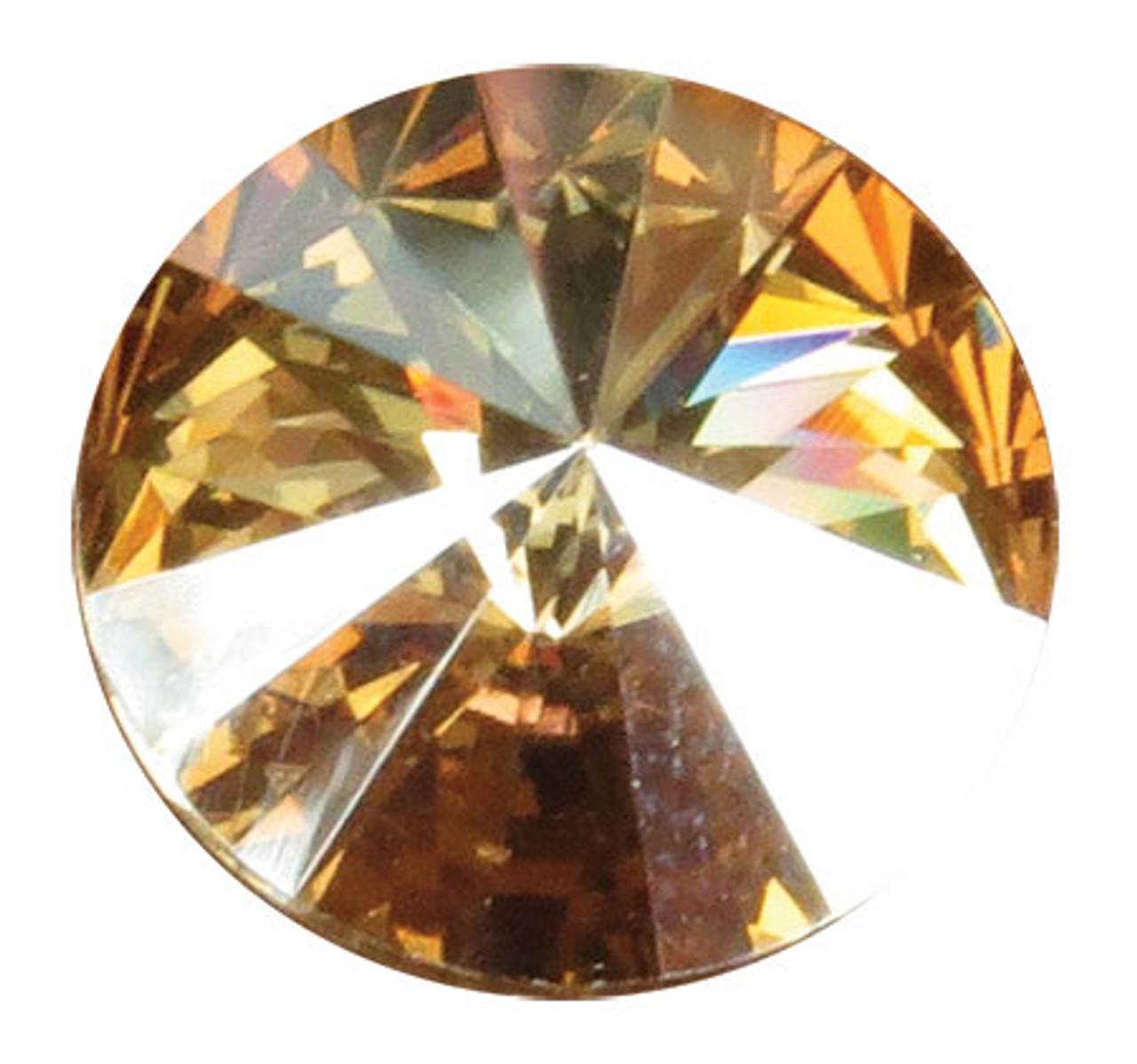 SCNOV - Swarovski Crystal Gemstones Citrine (November) 6 stones/pack. For ClayPaws® Prints