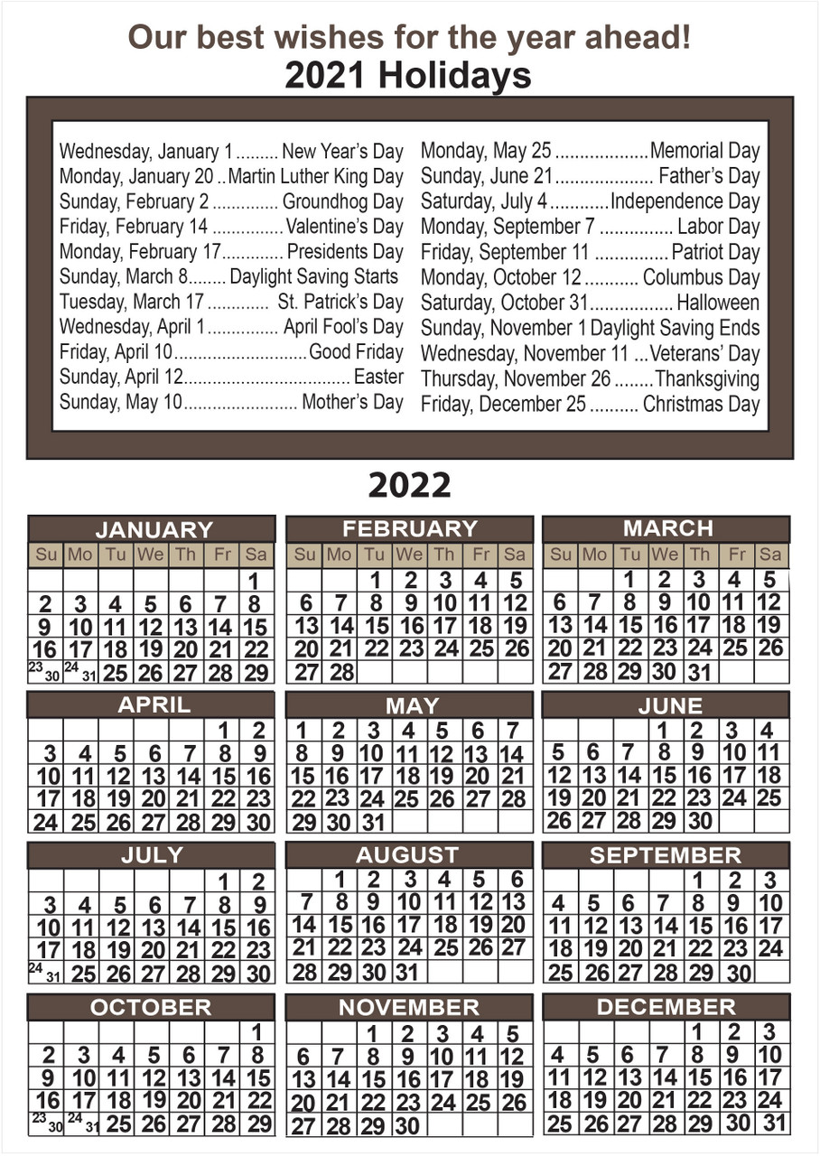 CAL6: Calendar 5