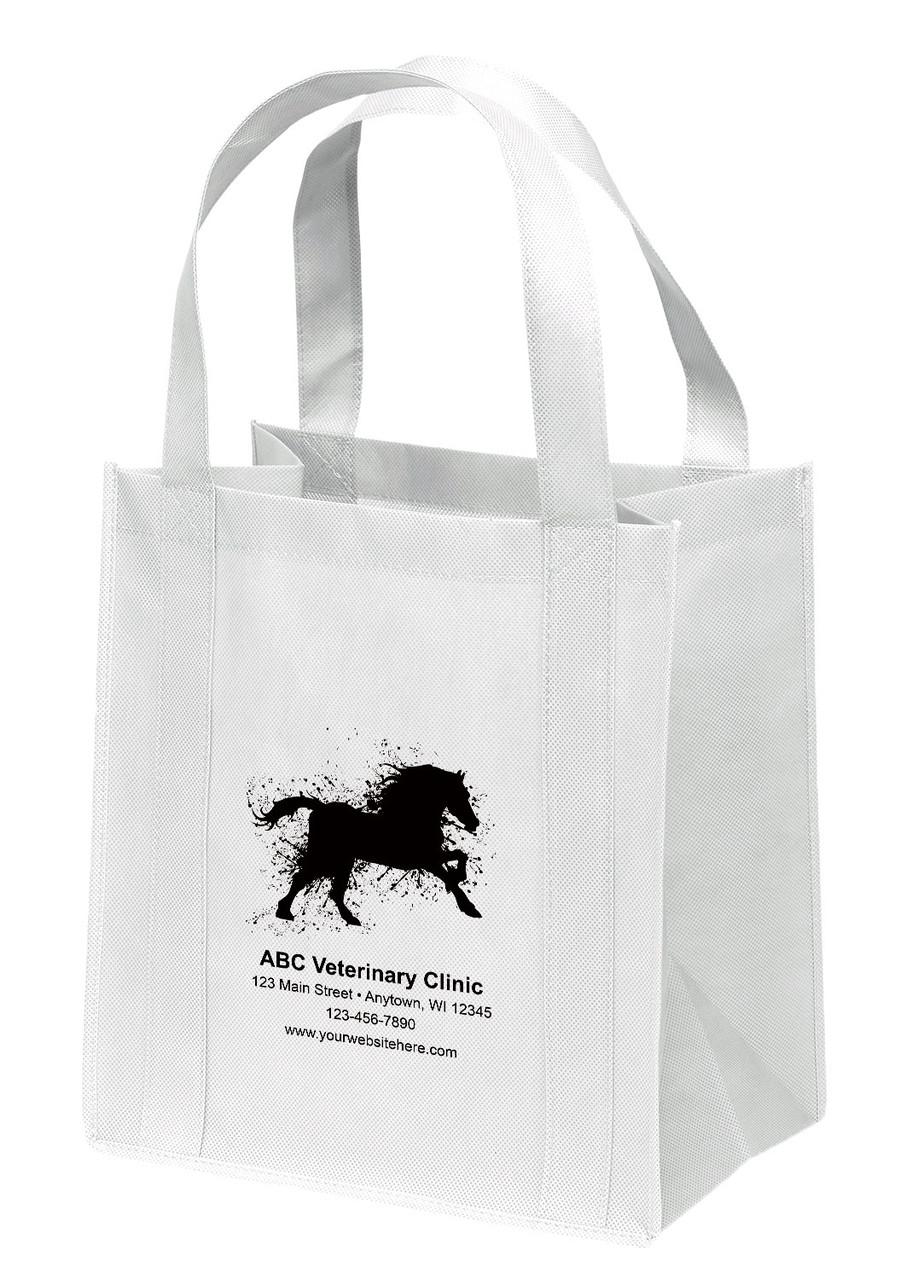 NWL32 - Personalized Non-Woven Tote Bag - 13W x 10 x 15H