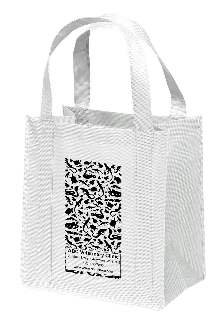 NWL35 - Personalized Non-Woven Tote Bag - 13W x 10 x 15H