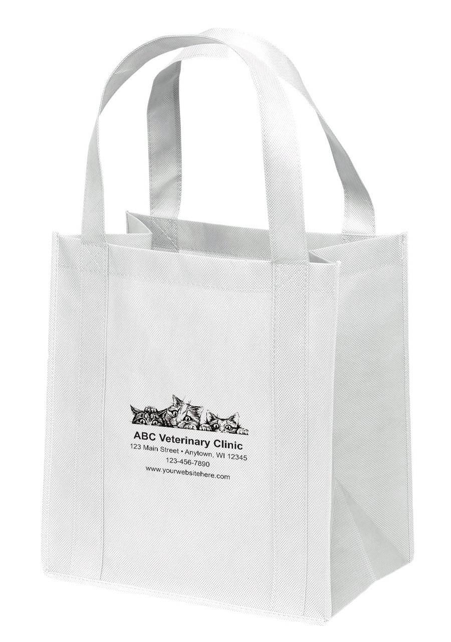 NWL41 - Personalized Non-Woven Tote Bag - 13W x 10 x 15H