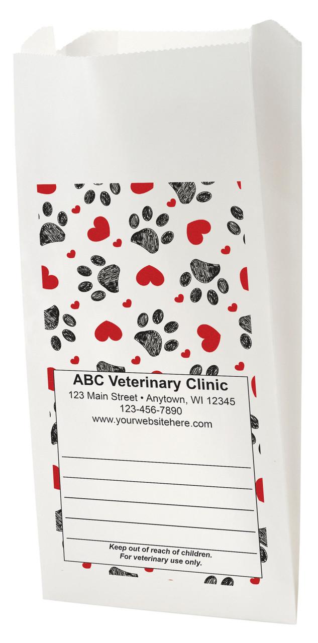 FCPBD17 - Full Color Personalized Prescription Bag