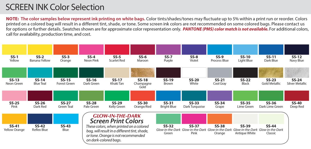 Imprint Color Options