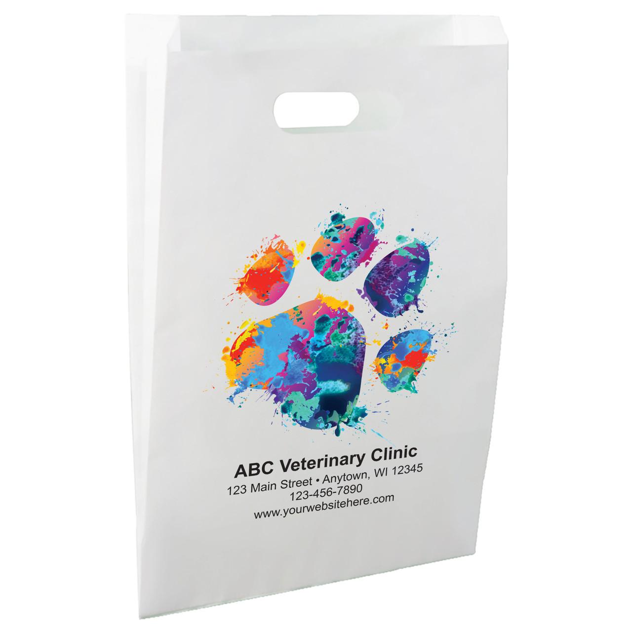 FCPHL5 - Die Cut Paper Handle Bag