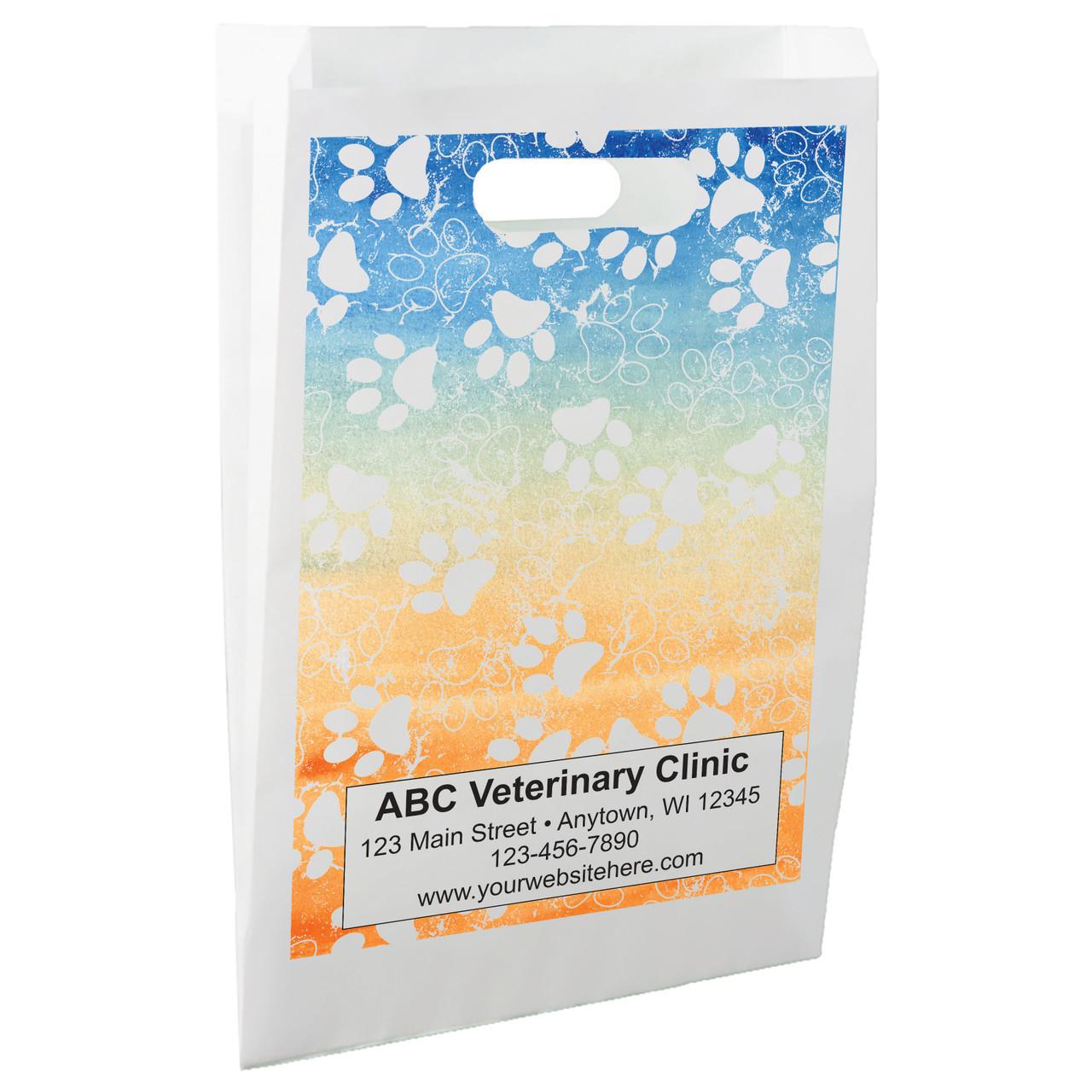 FCPHL9 - Die Cut Paper Handle Bag
