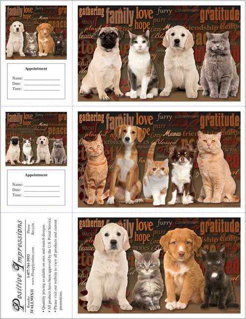3FALLMIX11 - 3 Up Reminder Cards