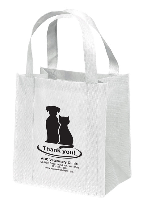 NWL3 - Personalized Non-Woven Tote Bag - 12W x 8 x 13H