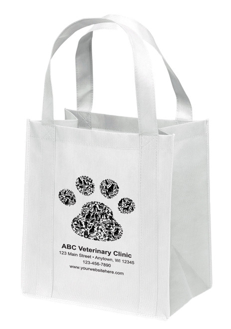NWS20 - Personalized Non-Woven Tote Bag - 12W x 8 x 13H