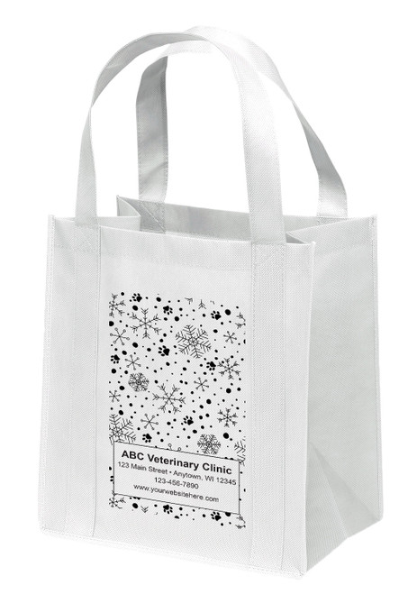 NWL29 - Personalized Non-Woven Tote Bag - 12W x 8 x 13H
