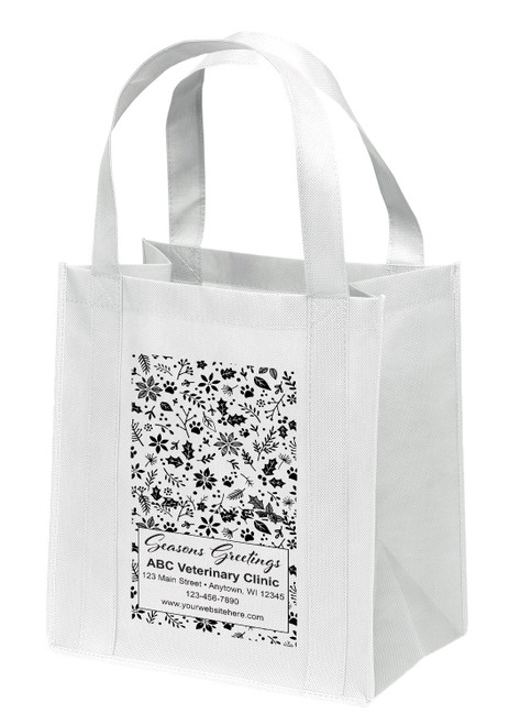 NWS30 - Personalized Non-Woven Tote Bag - 12W x 8 x 13H
