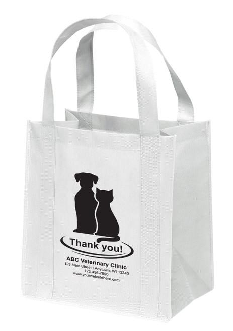 NWL3 - Personalized Non-Woven Tote Bag - 13W x 10 x 15H