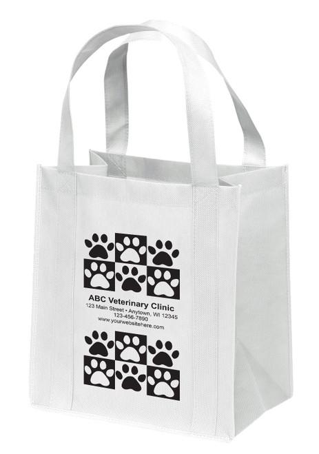 NWB4 - Personalized Non-Woven Tote Bag - 13W x 10 x 15H