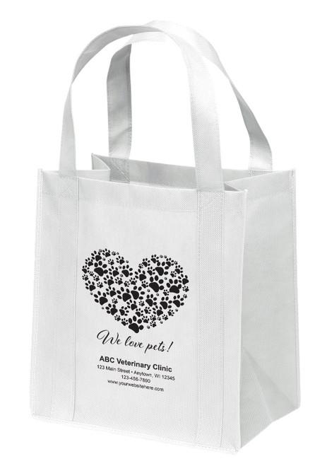 NWB5 - Personalized Non-Woven Tote Bag - 13W x 10 x 15H