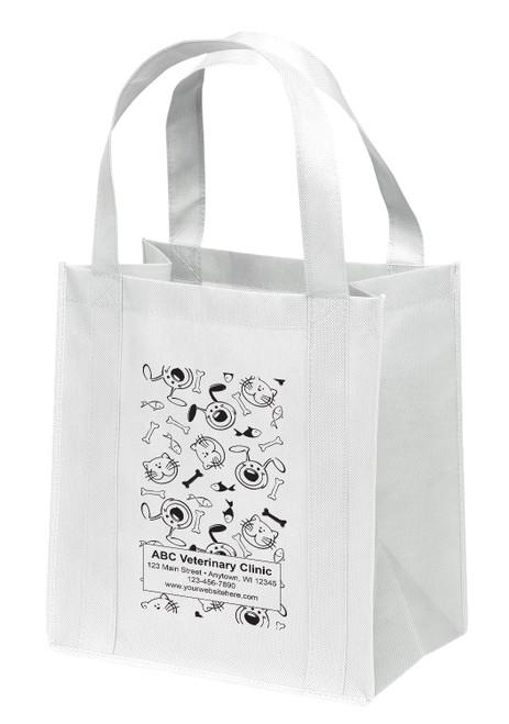 NWL8 - Personalized Non-Woven Tote Bag - 13W x 10 x 15H