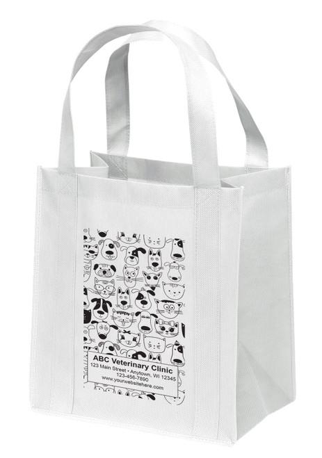 NWB14 - Personalized Non-Woven Tote Bag - 13W x 10 x 15H