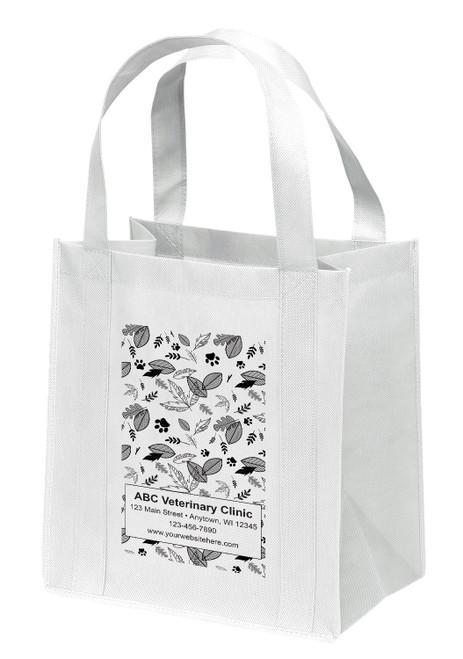 NWB26 - Personalized Non-Woven Tote Bag - 13W x 10 x 15H