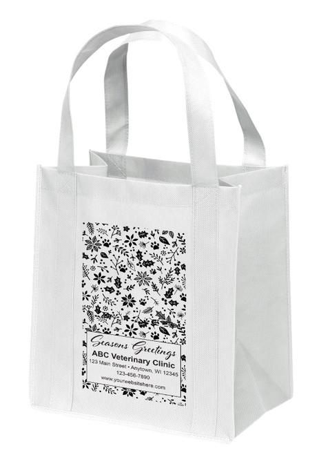 NWL30 - Personalized Non-Woven Tote Bag - 13W x 10 x 15H