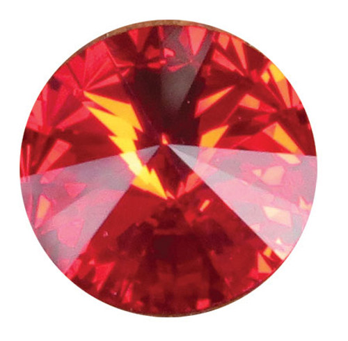 SCJUL - Swarovski Crystal Gemstones Ruby (July) 6 stones/pack. For ClayPaws® Prints