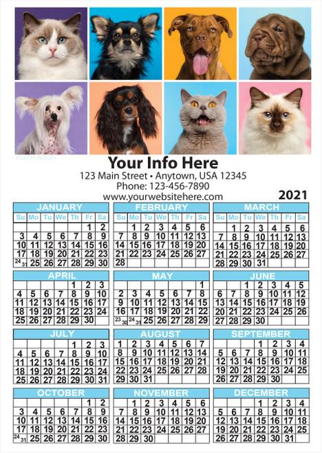 CAL5: Calendar 5 Magnet