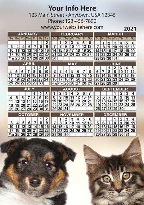 CAL6: Calendar 6 Magnet