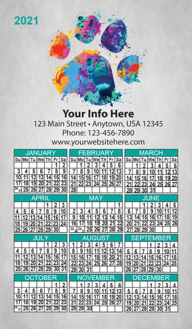 CAL8: Calendar 8 Magnet