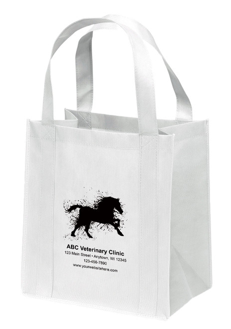 NWS32 - Personalized Non-Woven Tote Bag - 12W x 8 x 13H