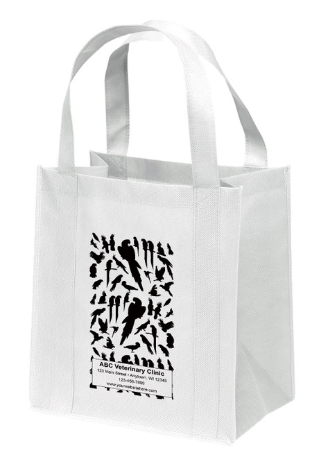 NWS34 - Personalized Non-Woven Tote Bag - 12W x 8 x 13H