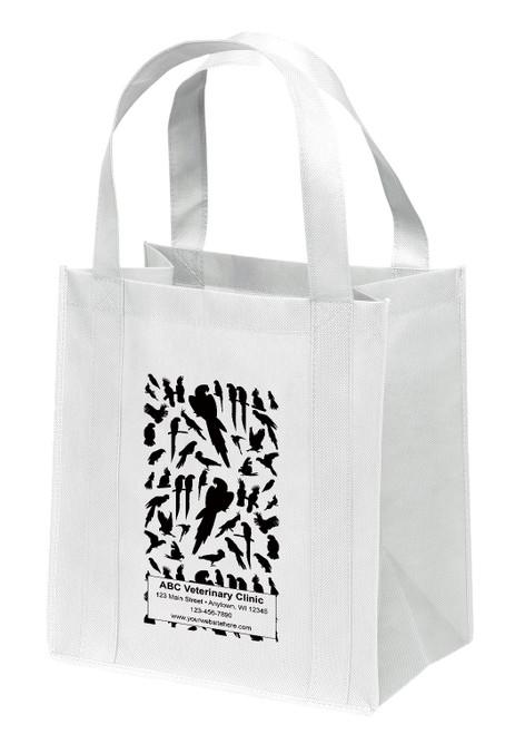 NWL34 - Personalized Non-Woven Tote Bag - 13W x 10 x 15H