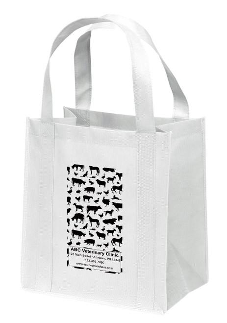 NWL37 - Personalized Non-Woven Tote Bag - 13W x 10 x 15H