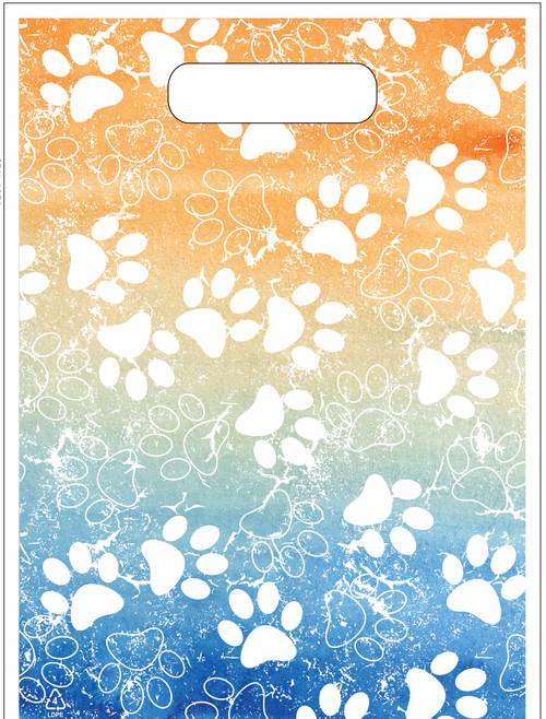 """FCTOTE13 - Full-Color Plastic Tote Bag - 9"""" x 12"""""""