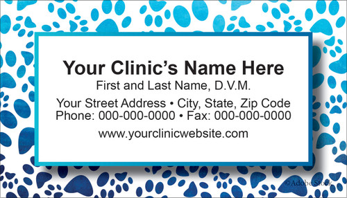 VBCSTD147-Standard, Appointment Backed, or Magnetic Business Card