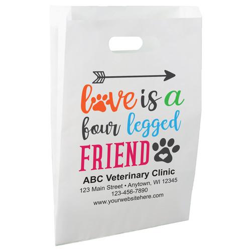 FCPHS15 - Die Cut Paper Handle Bag
