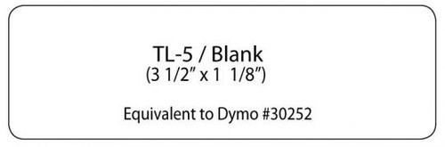 TL-5/BLANK Mailing Labels
