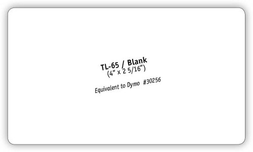 TL-65/BLANK Mailing Labels