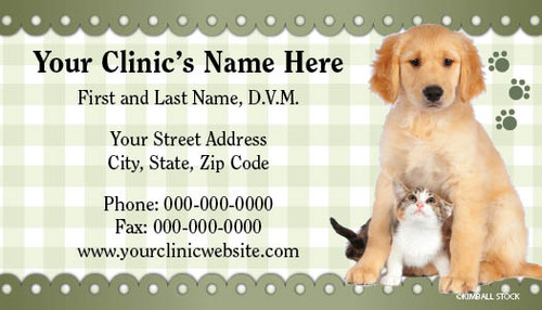 VBCSTD106-Standard, Appointment Backed, or Magnetic Business Card