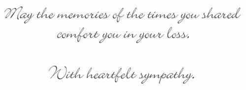 SYMEQ9 - Sympathy Card