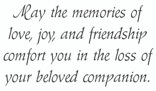 SYMDOG26 - Sympathy Card