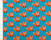 The Little Fox Teal by JNY Colorful Kids