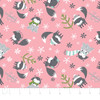 CLOSEOUT Winter Fox Pink Flannel by Camelot