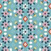 Flowerbed Blue Knit by Birch