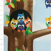 Owl Family Panel by Quilting Treasures