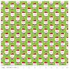 Santa Claus Green Flannel by Riley Blake
