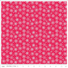 Snowflakes on Red Flannel by Riley Blake