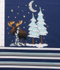 The Cozy Moose Child Panel Cotton/Lycra by Made Whimsy