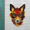 Hipster Fox Panel Cotton/Lycra