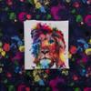 Pre-Order Amazing Watercolor Lion Panel by Riza Peker