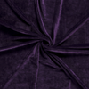 Purple Euro Stretch Velvet Knit