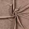 Camel Euro Stretch Velvet Knit